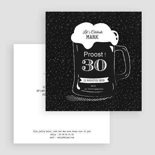 Verjaardagskaarten volwassenen - Bierglas 54399 thumb
