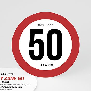 Verjaardagskaarten volwassenen - Maximum snelheid 50 - 0
