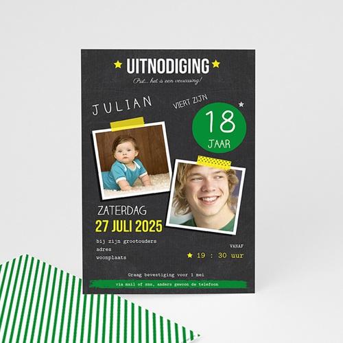 Verjaardagskaarten volwassenen - Pop 18 54431 thumb