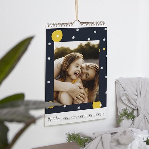 Personaliseerbare kalenders 2019 - Geel-Zwart 54507 thumb