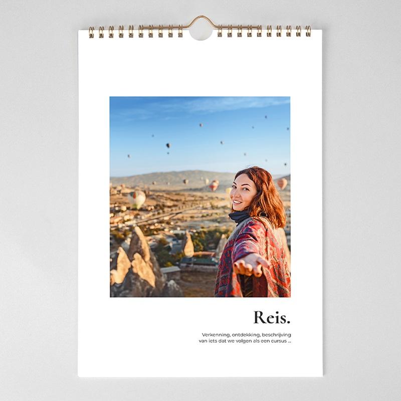 Personaliseerbare kalenders 2019 Jaar van de reizen pas cher