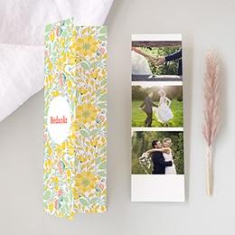 Bedankkaartjes Huwelijk Wilde bloemen