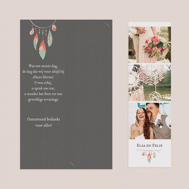 Bedankkaartjes huwelijk Zoals Een Droom pas cher
