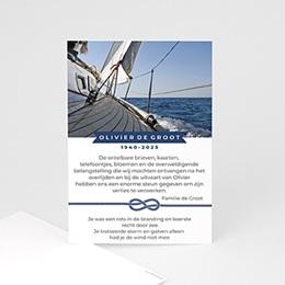 Universele rouwkaarten Op zee