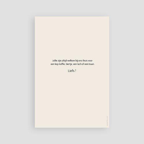 Universele Bedankkaartjes Overlijden Sereen pas cher