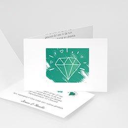 Uitnodiging Anniversaire mariage edel jubileum