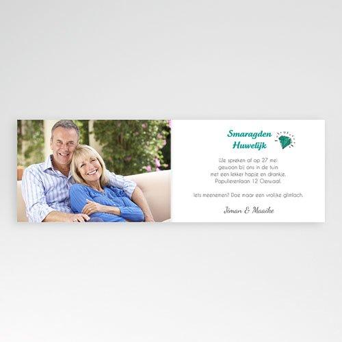 Jubileumkaarten huwelijk - edel jubileum 54633 thumb