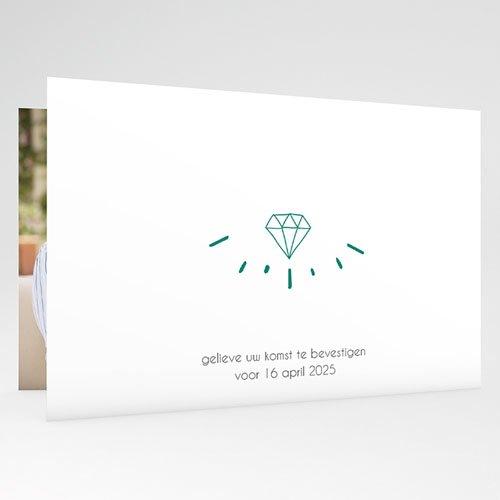 Jubileumkaarten huwelijk - edel jubileum 54634 thumb