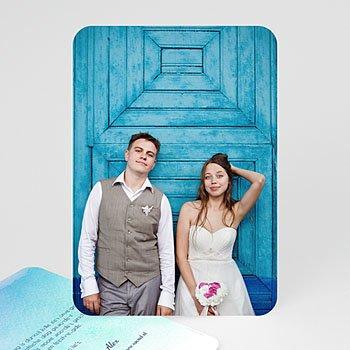 Bedankkaarten huwelijk - Veel liefs - 0