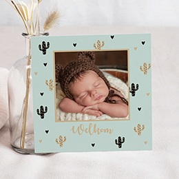 Aankondiging Geboorte Cactusje