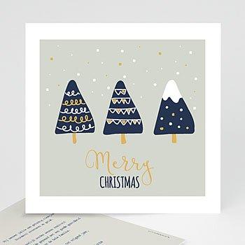 Kerstkaarten 2018 - Kerstbomen - 0