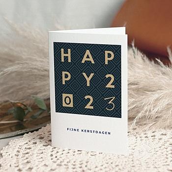 Professionele wenskaarten - Happy Gouden - 0