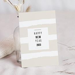 Professionele wenskaarten Nouvel An Pastel nieuwjaar