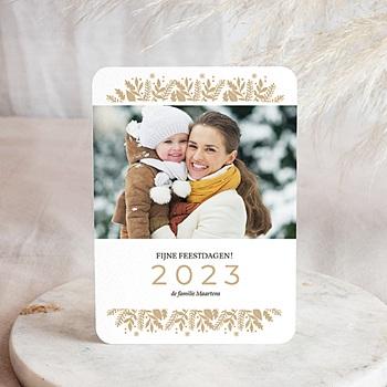 Wenskaarten familie - Chique Goudfolie - 0