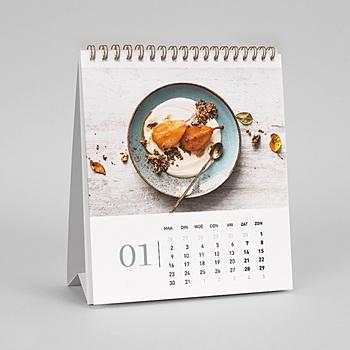 Kalender voor bedrijven - Vierkant formaat - 0