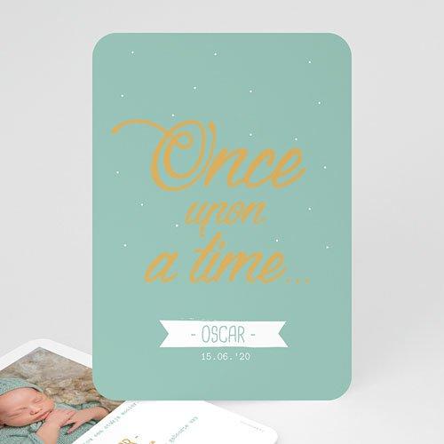 Geboortekaartje jongen - Once upon a Boy 55569 thumb
