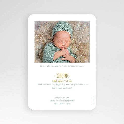 Geboortekaartje jongen - Once upon a Boy 55570 thumb