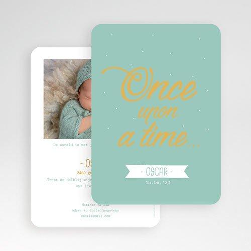 Geboortekaartje jongen - Once upon a Boy 55571 thumb