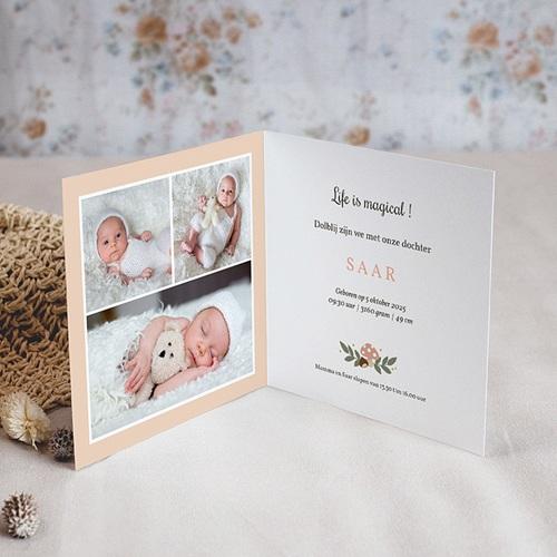 Geboortekaartje meisje - Herfstfeest 55596 thumb