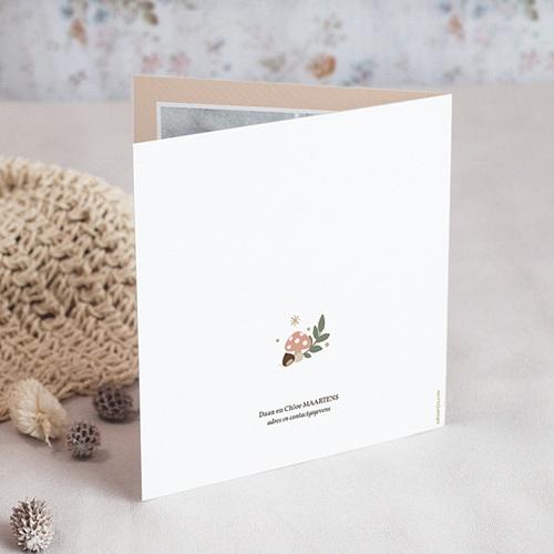 Geboortekaartje meisje - Herfstfeest 55597 preview