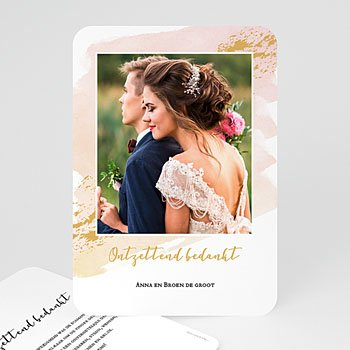 Chique bedankkaartjes huwelijk - Sweetest Day - 0