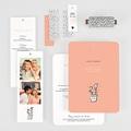 Creatieve trouwkaarten - 2 harten 55764 thumb