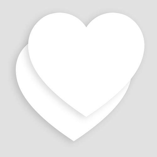 Doopkaartje meisje - 100% Création Baptême Coeur 55842 preview