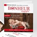 Geboortekaartje meisje - Geboortetijdschrift 55852 thumb