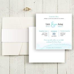 Aankondiging Huwelijk Aquarelwerk