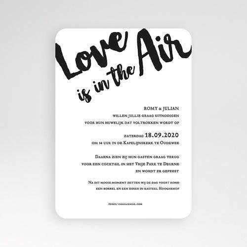 Trouwkaarten met foto - Golden Love 56127 thumb