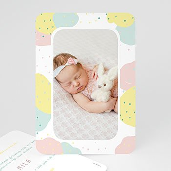 Geboortekaartje meisje - Passievruchten - 0