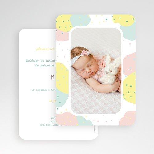 Geboortekaartje meisje - Passievruchten 56264 thumb