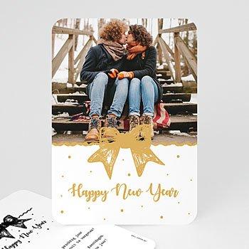 Kerstkaarten 2018 - Gouden Strikje - 0
