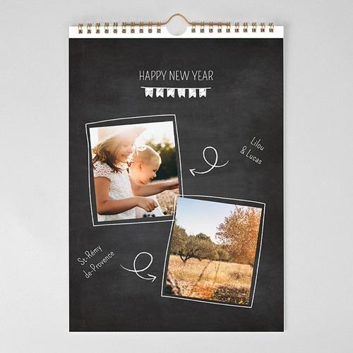 Personaliseerbare kalenders 2019 Een schone lei pas cher