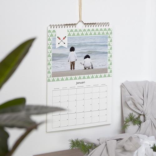 Personaliseerbare kalenders 2019 - geometrische kalender 56461 thumb