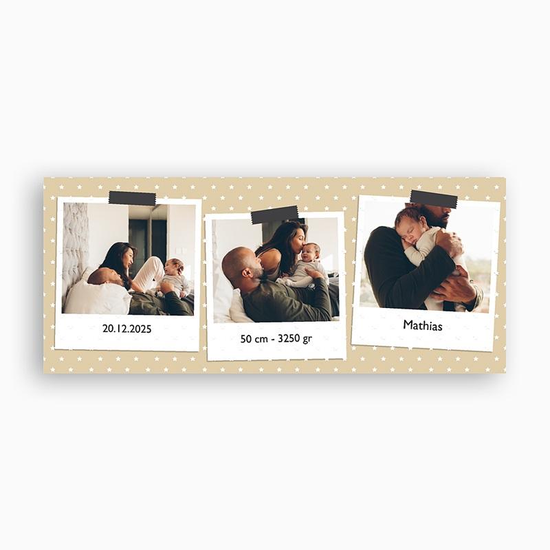 Personaliseerbare mokken Eerste polaroids pas cher