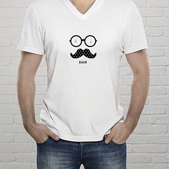 T-shirt met foto - Snor & Zonnebril - 0