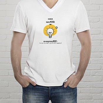 T-shirt met foto - Fantastische peter - 0