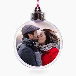 Kerstbal Kado Christmas Love