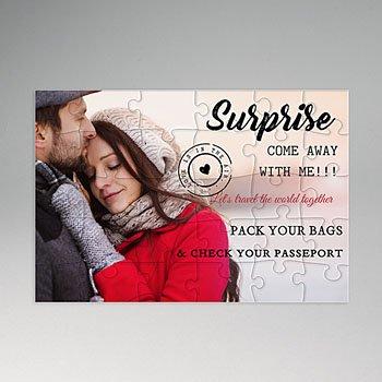 Personaliseerbare puzzel - Surprise Gift - 0