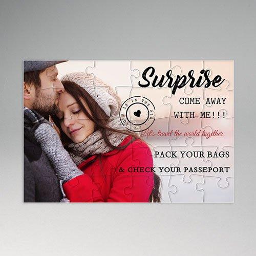 Gepersonaliseerde Fotopuzzel Surprise Gift