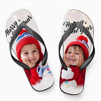Slippers - Kerst flip flop - 0