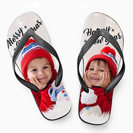 Slippers Kado Kerst flip flop