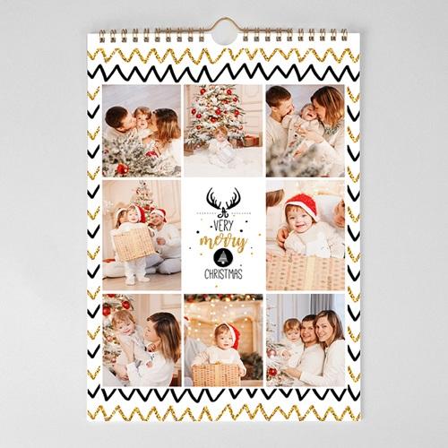 Personaliseerbare kalenders 2019 Bright Christmas pas cher