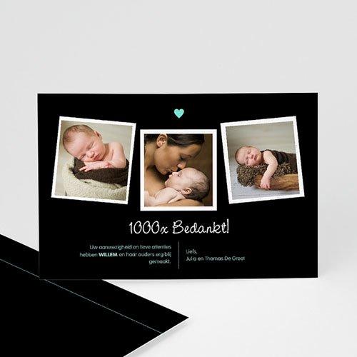 Bedankkaartje geboorte zoon - Grote zus 57056 thumb