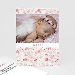 Bedankkaartjes Geboorte Knoopje in de zakdoek