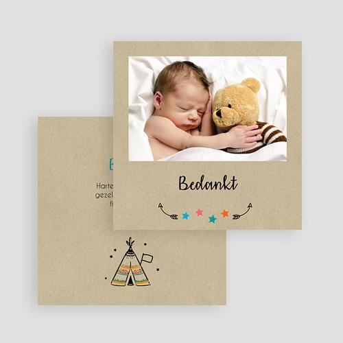 Originele bedankkaartjes geboorte - wigwam 57068 thumb