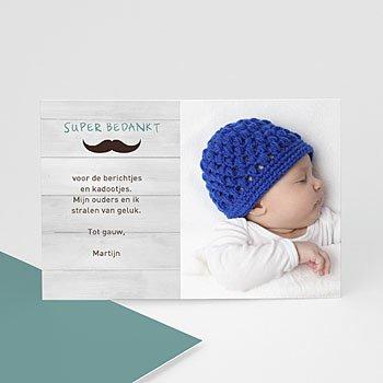 Bedankkaartje geboorte zoon - Ons kleintje - 0