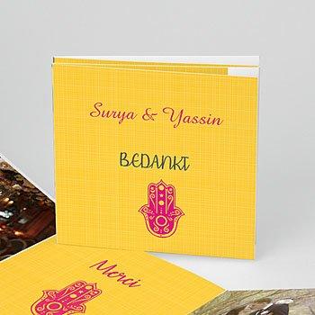 Bedankkaartjes huwelijk - Jaipur - 0