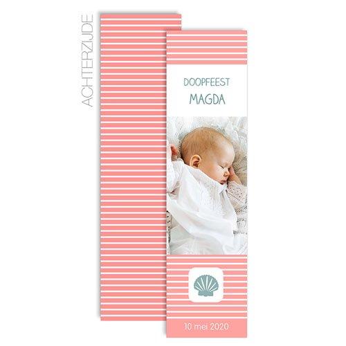Boekenlegger - Maritiem, roze 57193 thumb